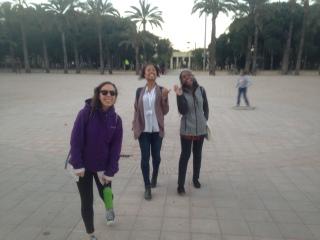 A few of my companions in walking Valencia!
